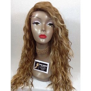 BLONDE COLOR MIX FULL WIG